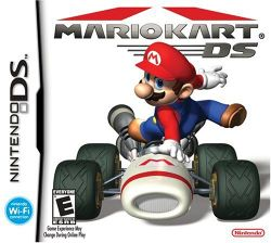 Box artwork for Mario Kart DS.