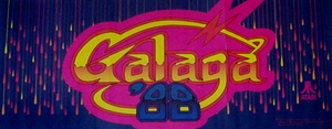 Galaga '88 marquee