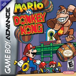 Box artwork for Mario vs. Donkey Kong.