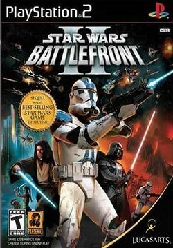 Box artwork for Star Wars: Battlefront II.