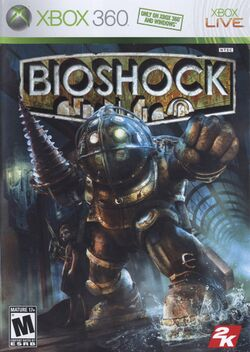 Box artwork for BioShock.