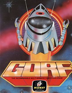 Box artwork for Gorf.