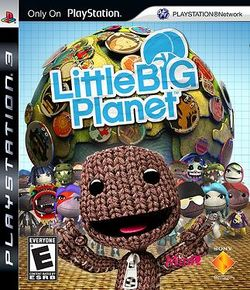 Box artwork for LittleBigPlanet.