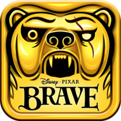 Box artwork for Temple Run: Brave.