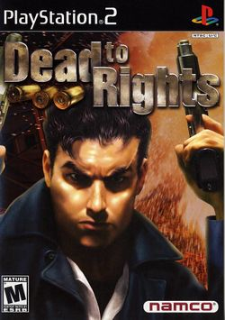 Box artwork for Dead to Rights.