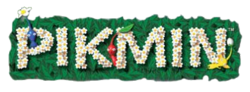 The logo for Pikmin.