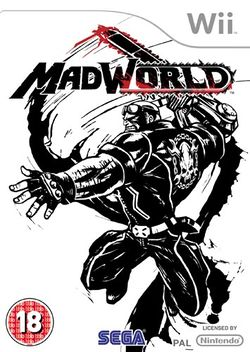 Box artwork for MadWorld.