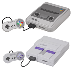 The console image for Super Nintendo.