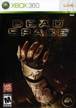 Box artwork for Dead Space.