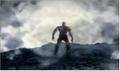 God of War-kratos steps off a cliff.png