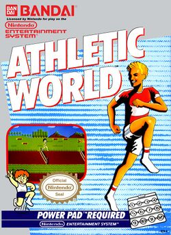 Box artwork for Athletic World.