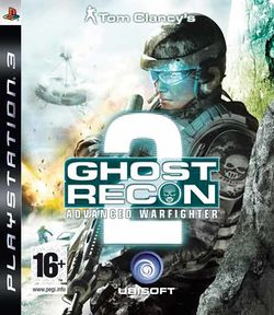 Box artwork for Tom Clancy's Ghost Recon Advanced Warfighter 2.