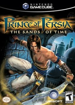 Box artwork for Prince of Persia: The Sands of Time.