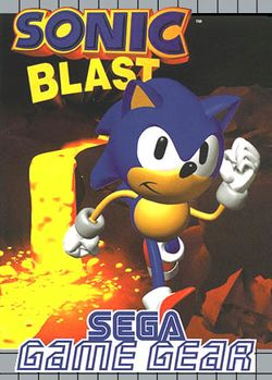 Box artwork for Sonic Blast.