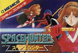 Box artwork for Space Hunter.