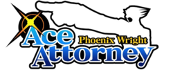 The logo for Ace Attorney.