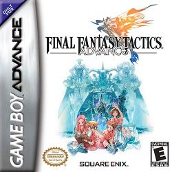 Box artwork for Final Fantasy Tactics Advance.