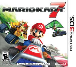 Box artwork for Mario Kart 7.