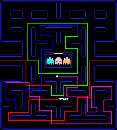"Fastest Pac Man 2nd Apple Pattern """"Supernova"