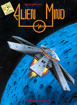 Box artwork for Alien Mind.