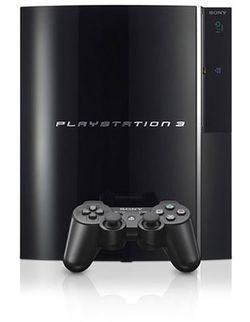 The console image for PlayStation 3.