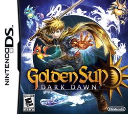 Box artwork for Golden Sun: Dark Dawn.