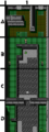 Metal Gear NES map B2 Tunnel.png