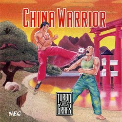 Box artwork for China Warrior.