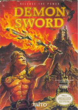 Box artwork for Demon Sword.