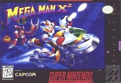 Box artwork for Mega Man X2.