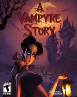 Box artwork for A Vampyre Story.