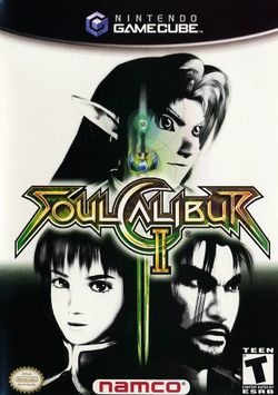 Box artwork for Soulcalibur II.