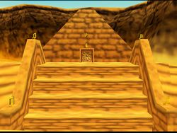 Banjo-Kazooie Gobi's Valley Puzzle Pyramid (outside).jpg