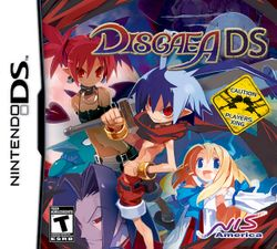 Box artwork for Disgaea DS.