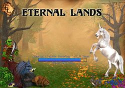 Box artwork for Eternal Lands.