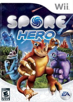 Box artwork for Spore Hero.