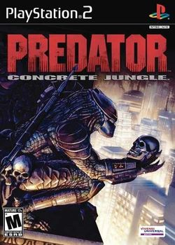 Box artwork for Predator: Concrete Jungle.