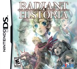 Box artwork for Radiant Historia.