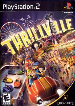 Box artwork for Thrillville.