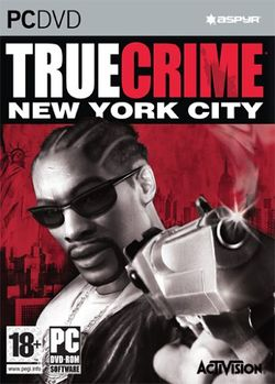 Box artwork for True Crime: New York City.