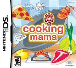 Box artwork for Cooking Mama.