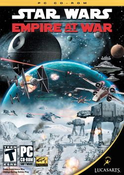 Box artwork for Star Wars: Empire at War.