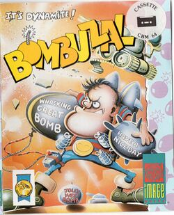 Box artwork for Bombuzal.