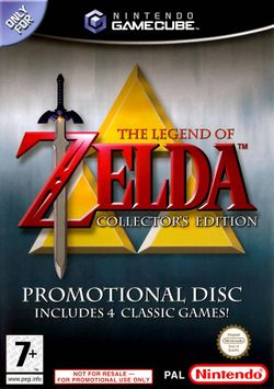 Box artwork for The Legend of Zelda: Collector's Edition.