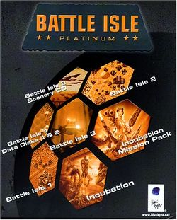 Box artwork for Battle Isle Platinum.
