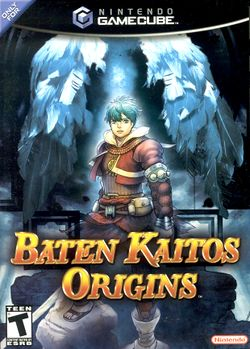 Box artwork for Baten Kaitos Origins.