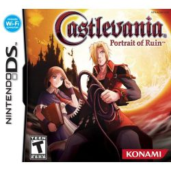 Box artwork for Castlevania: Portrait of Ruin.