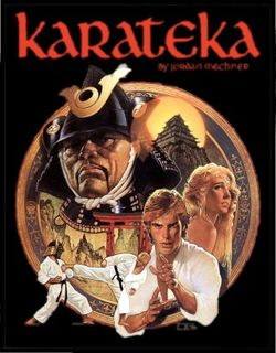 Box artwork for Karateka.