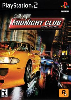 Box artwork for Midnight Club: Street Racing.