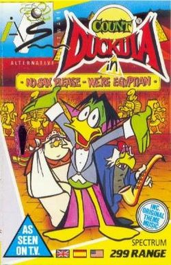 Box artwork for Count Duckula.